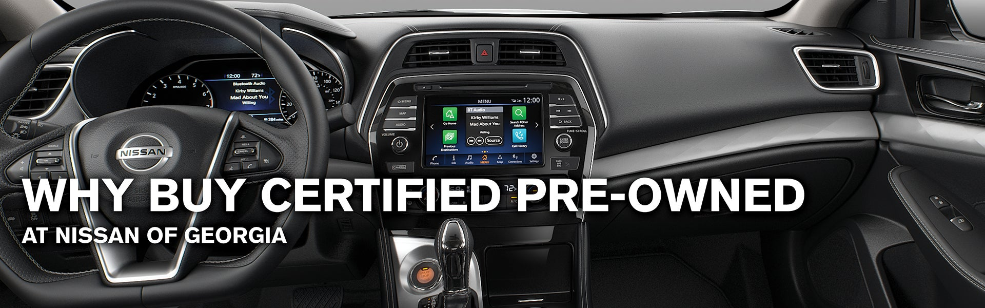 Nissan Certified Pre Owned >> Why Buy Certified Pre Owned